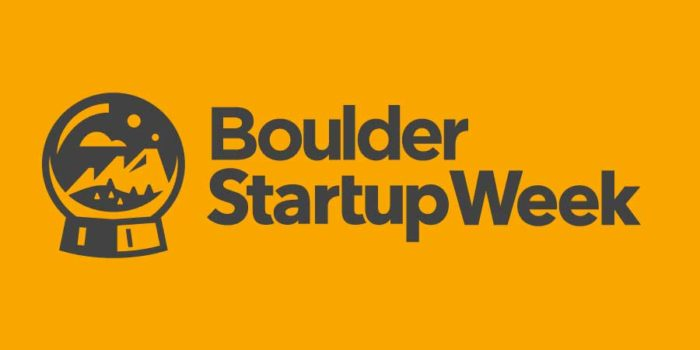 6th Annual Boulder Start-Up Week