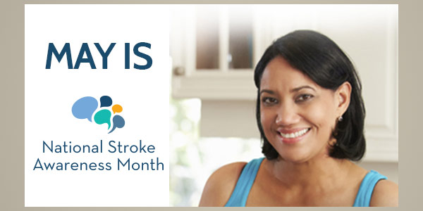 National Stroke Awareness Month