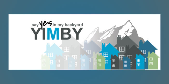 YIMBY: Yes In My Back Yard