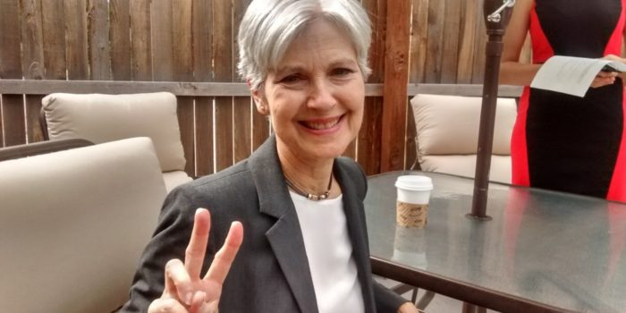 Greenpeace presidential candidate Dr. Jill Stein in Colorado
