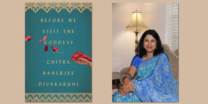 "Booktalk: Indian-American Chitra Banerjee Divakaruni discusses ""Before We Visit The Goddess"""