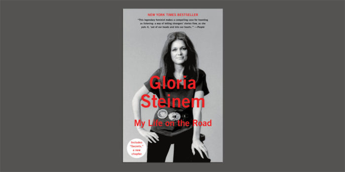 "Booktalk:  The One & Only Gloria Steinem talking about ""My Life on the Road"""