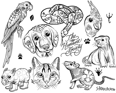 Dot Org: Tattoos to support Boulder Humane Society