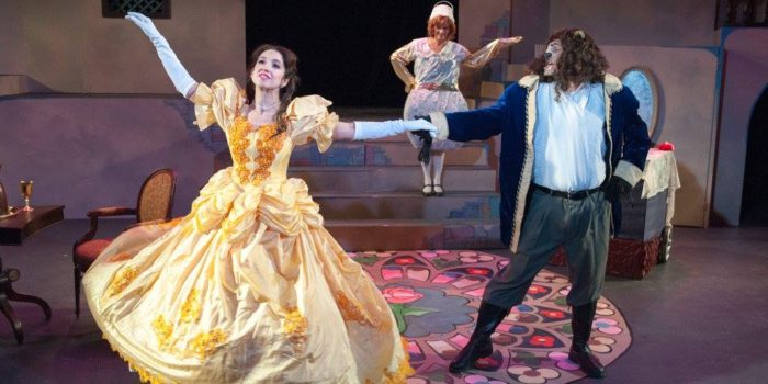Disney's Beauty and the Beast Shines on Vintage Theatre Stage