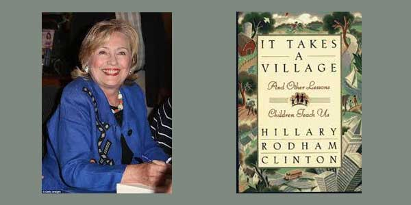"Booktalk: Presidential Candidate Hillary Rodham Clinton and ""It Takes a Village"""