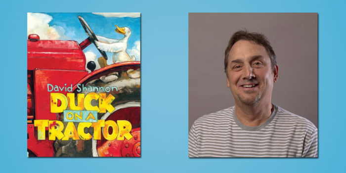 "Booktalk: Children's book author David Shannon and his latest fowl adventure, ""Duck On A Tractor"""