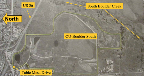 Plans for CU Boulder South Property