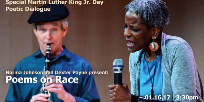 A Poetic Dialogue on Race: MLK special performance