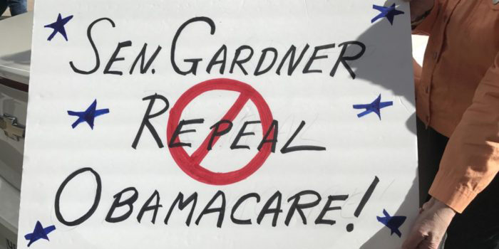 Protests against repeal of Affordable Care Act