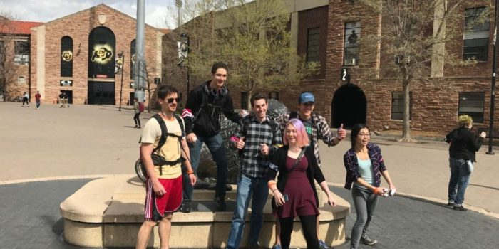 CU Students Battle Zombies in a Week Long Game of Tag