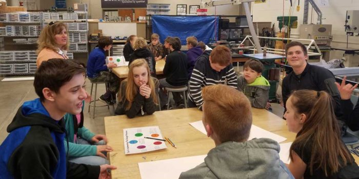 Tech Talks: Design Challenge Workshop with Estes Park Middle School