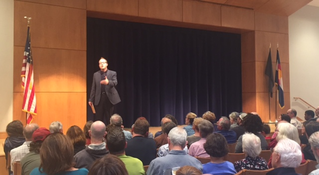 Resistance Radio: U.S. Congressman Jared Polis Hosts Boulder Town Hall