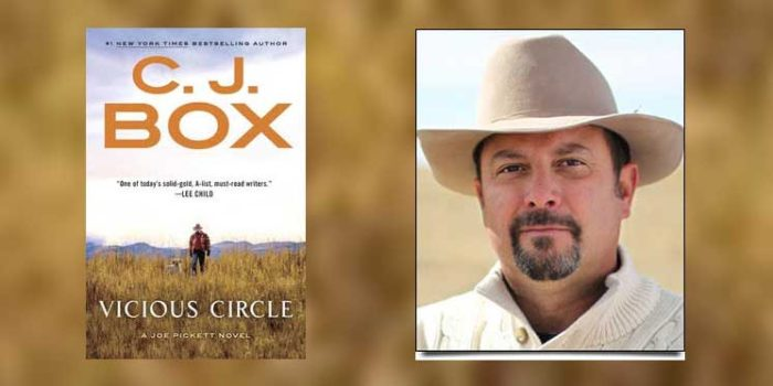 "Booktalk: Western crime writer CJ Box and ""Vicious Circle"""