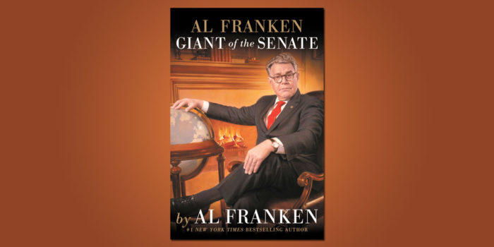 "Booktalk: ""Al Franken, Giant of the Senate"". A memoir"