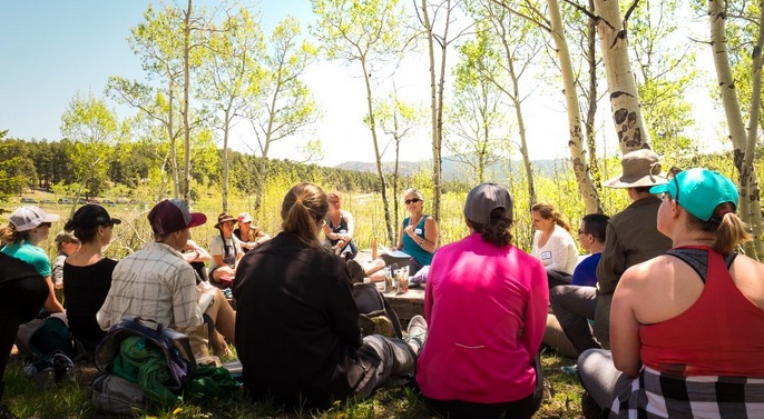 Dot Org: Women's Wilderness Institute