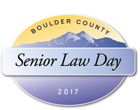 Boulder County Senior Law Day 2017