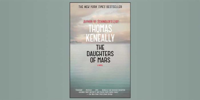 "Booktalk: Australian novelist Thomas Keneally & ""The Daughters of Mars"""