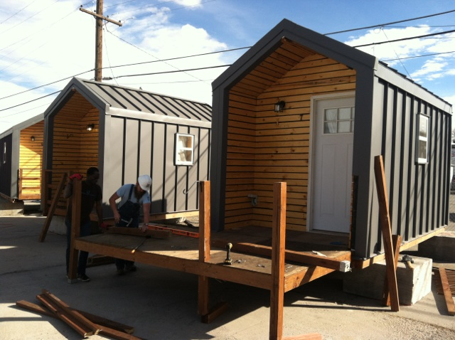 Tiny Homes for the Homeless Forced to Relocate due to Denver Zoning Laws