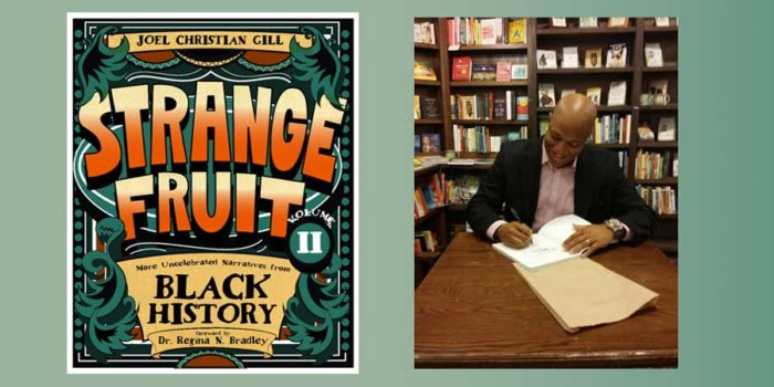 "Cafe Nuba: Joel Christian Gill – creator of graphic novel ""Strange Fruit"""