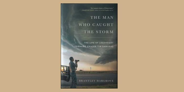 "Booktalk: Journalist Brantley Hargrove's ""The Man Who Caught the Storm"""