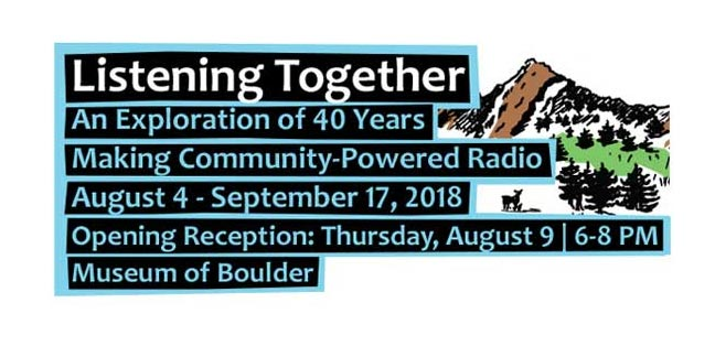 """Listening Together"" opens at The Museum of Boulder on August 4"