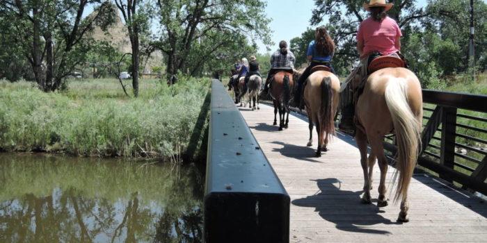 Lakota Riders Pass Through Boulder On 400 Mile Trek