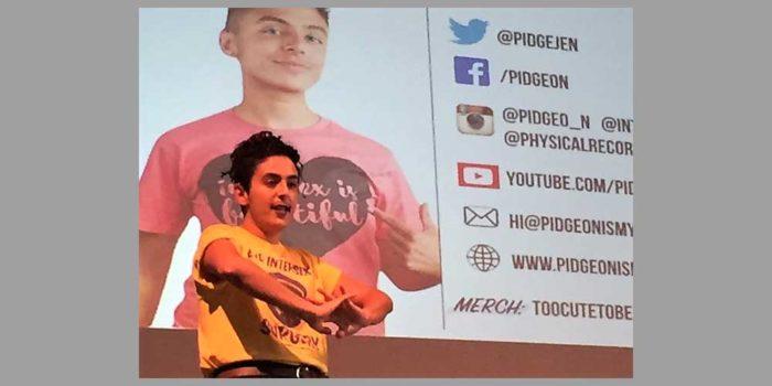 Outsources: Pidgeon, An Intersex Activist Helps us Understand