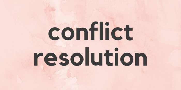 Conflict Resolution: Divorce