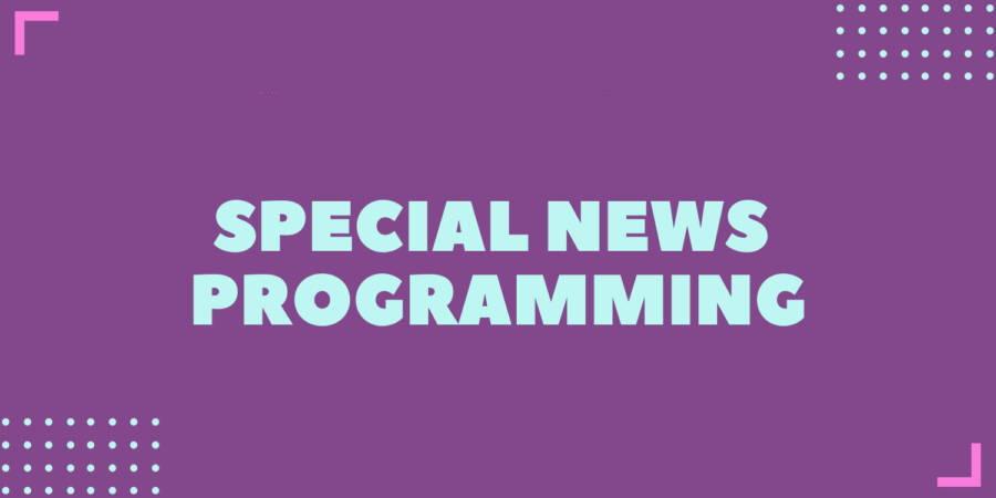 special news programming
